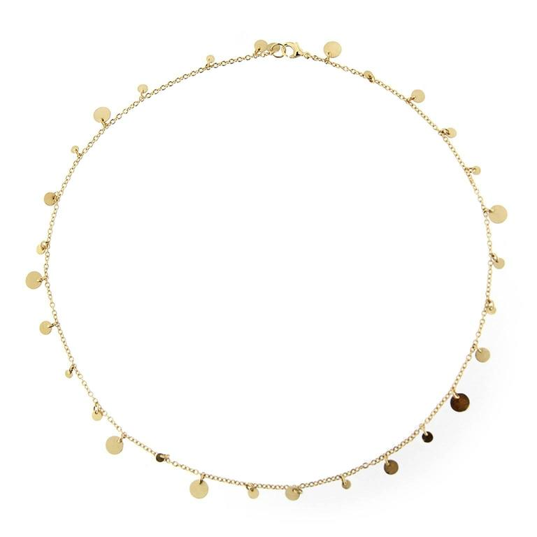 Jona Multi Coin Gold Chain Necklace