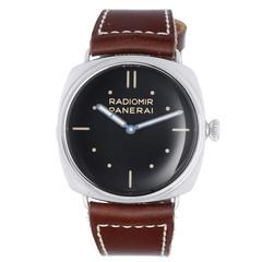 Panerai Stainless steel Radiomir SLC 3 Days Wristwatch