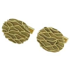 Tiffany & Co. Modernist Gold Cuff Links