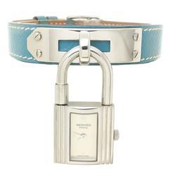 Hermes Ladies Stainless Steel Kelly Quartz Wristwatch