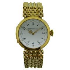 Patek Philippe Ladies Yellow Gold Pendant Bracelet Wristwatch