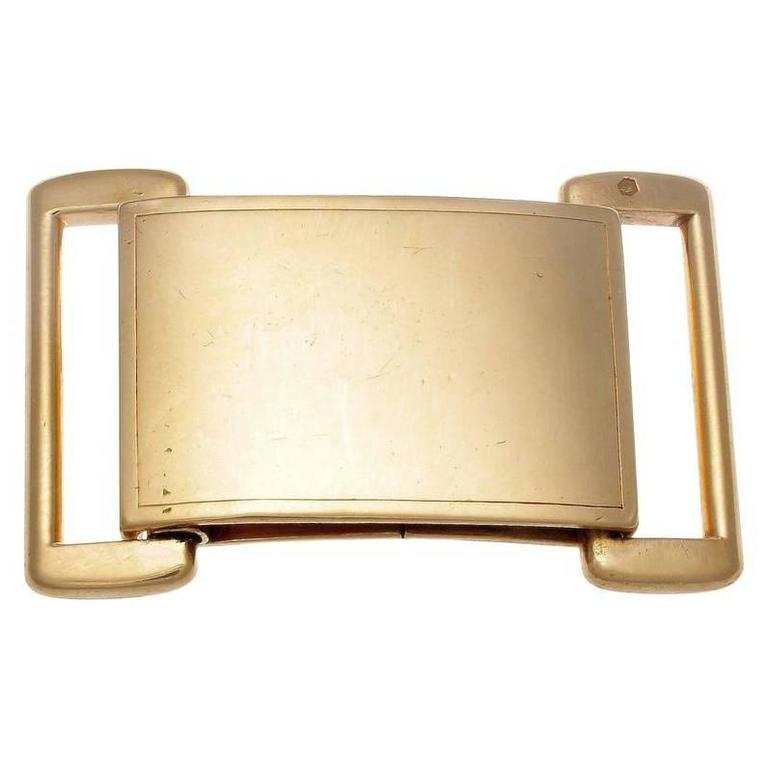 Cartier Paris Gold Buckle