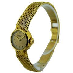 Patek Philippe Ladies Yellow Gold Bracelet Style Wristwatch Ref 3266/13