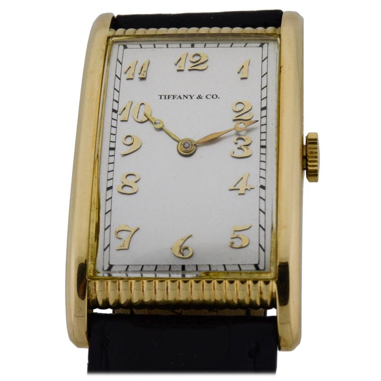 Tiffany & Co. by International Watch Co. Yellow Gold Watch