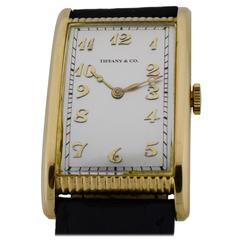 Tiffany & Co. by International Watch Co. Yellow Gold Watch