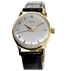 Cartier Paris Yellow Gold Calatrava Watch, Circa 1950s