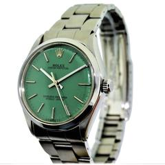 Rolex Stainless Steel Oyster Perpetual Wrist Watch