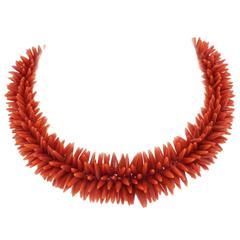 Luise Mediterranean Coral Necklace