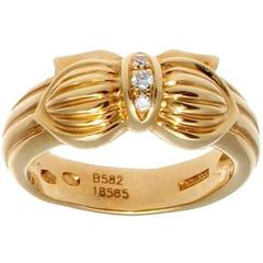 Boucheron Diamond Gold Ring