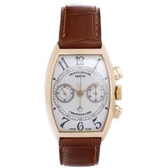 Franck Muller Chronograph Rose Gold Men's Watch 5850 CC