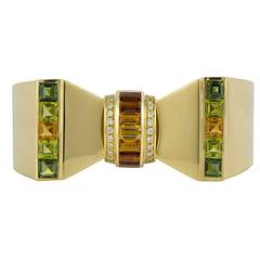 Sabbadini Multi Gemstone Bangle