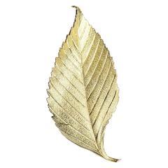 Cartier Gold Leaf Brooch
