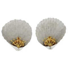 Buccellati Large Gold Flower motif Earrings