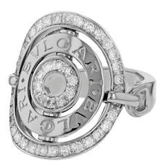 Bulgari Astrale Diamond Gold Ring