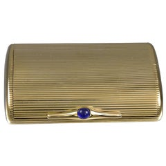 Exceptional Gold Double Pill Box