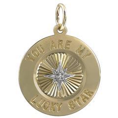 Lucky Star Gold Charm
