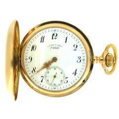 A.Lange & Sohne Rose Gold Pocket Watch