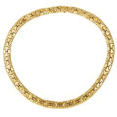 Bulgari Alveare Gold Choker Necklace