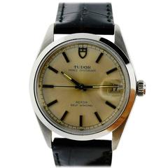 Tudor Watch Co. By Rolex Stainless Steel Strap Automatic Wristwatch