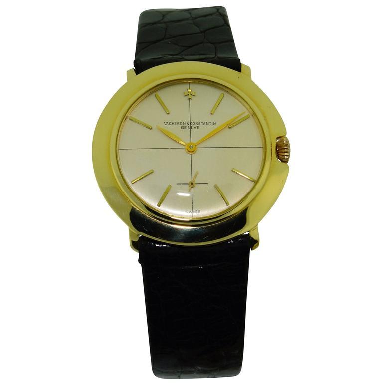 Vacheron & Constantin Yellow Gold Manual Winding Watch, circa 1950s
