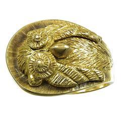 Lalaounis Goddess Athena's Owl Gold Ring
