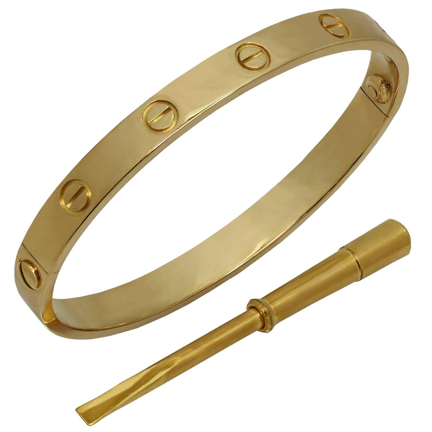 brands gold loved branded bangle yellow model product jewellery size love bangles pre category banglebracelet cartier original bracelet cipullo aldo