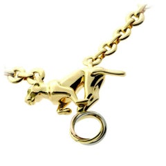 Cartier Panthere Gold Trinity Necklace