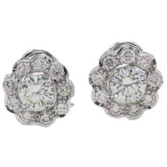 Luise Diamonds Clip-on Earrings