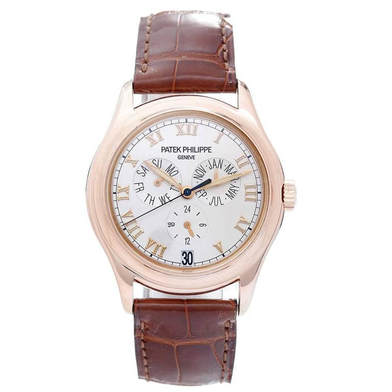 Patek Philippe Annual Calendar Rose Gold Wristwatch