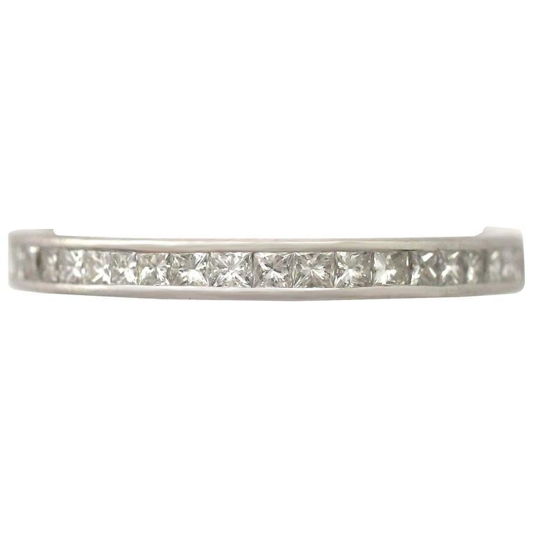 1960s Diamond and Platinum Full Eternity Ring