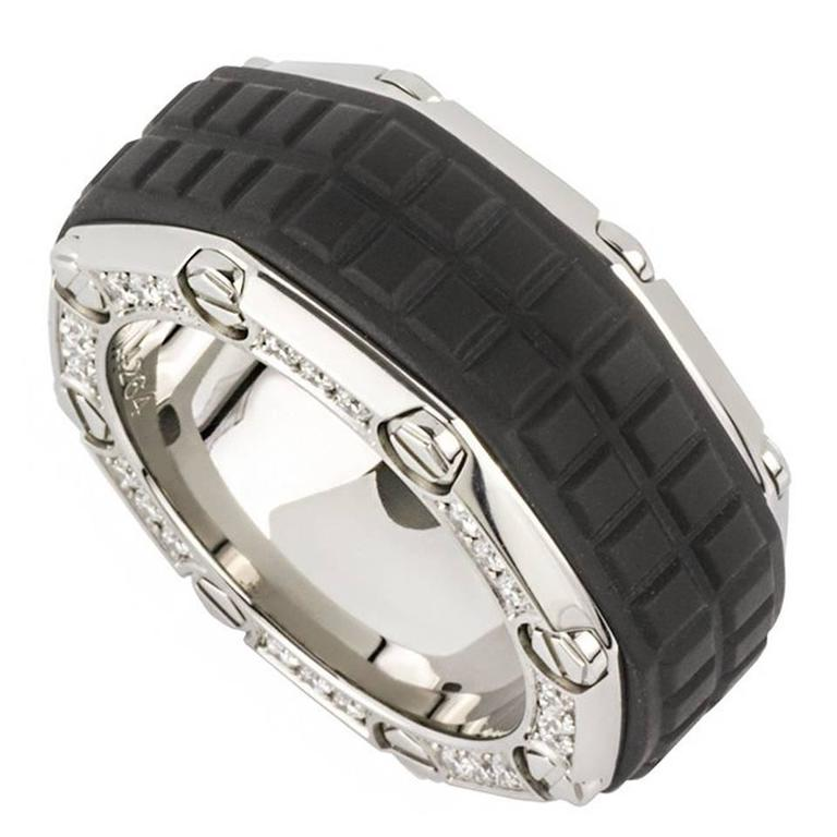 Audemars Piguet Anium Diamond Royal Oak Offs Ring For