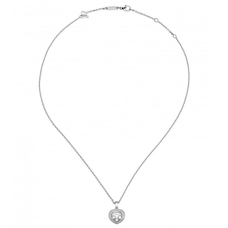 Chopard Happy curves Heart Diamond Pendant
