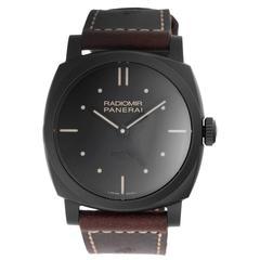 Panerai Radiomir Ceramica 3 Days power reserve 48mm Manual winding Wristwatch