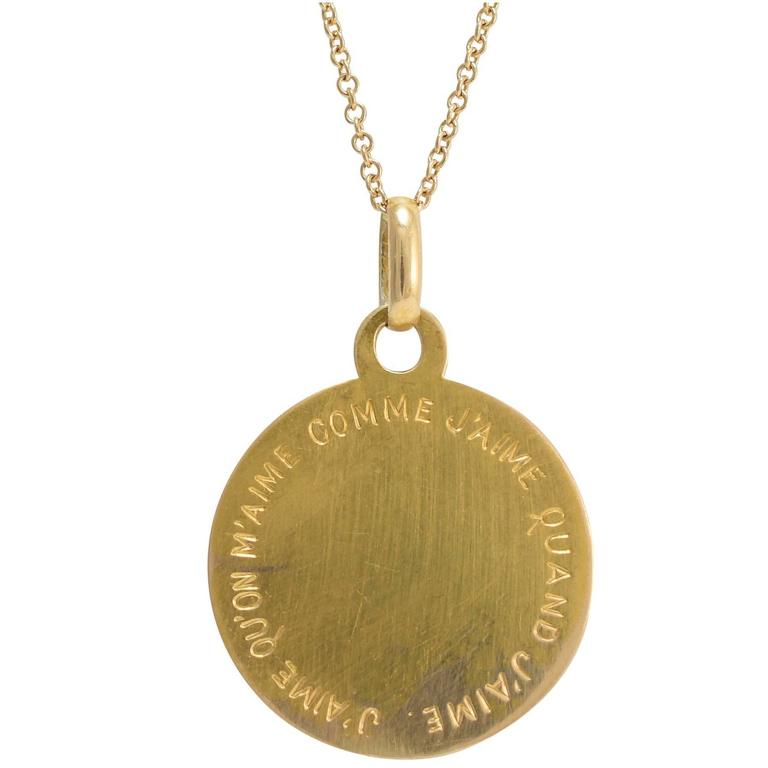 Antique gold to be loved love token pendant at 1stdibs antique gold to be loved love token pendant aloadofball Images