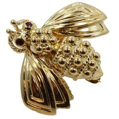 Tiffany & Co. Bee Gold Pin