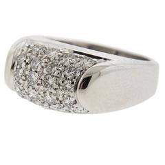 Bulgari Tronchetto Gold Diamond Ring