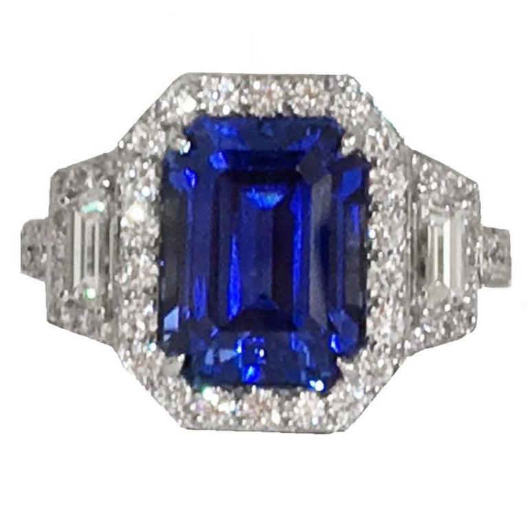 Blue Diamond Ring Tiffany