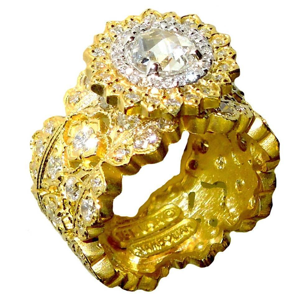 how to make a ring bigger at home