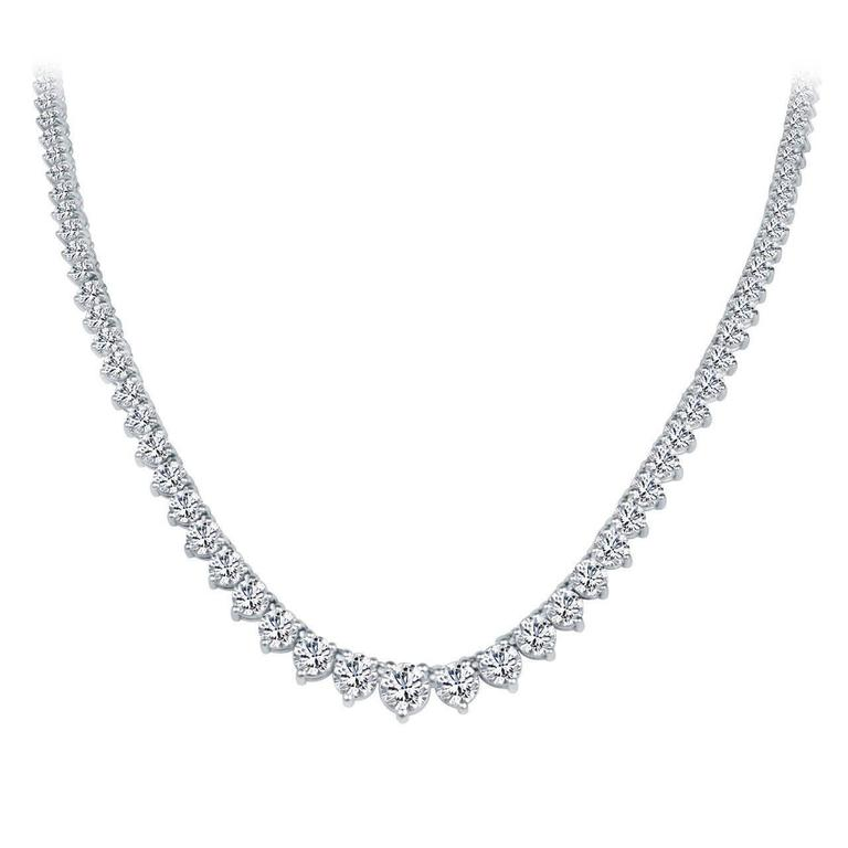 Diamond Riviere Necklace 5.00 cts. 1