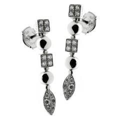 Bulgari Lucea Diamond Gold Earrings