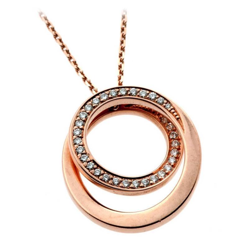 Cartier Nouvelle Vague Diamond Gold Necklace 1
