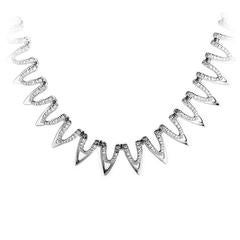 Piero Milano Diamond Gold Double Layer Necklace