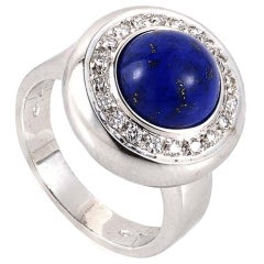 Piero Milano Lapis Diamond Gold Ring