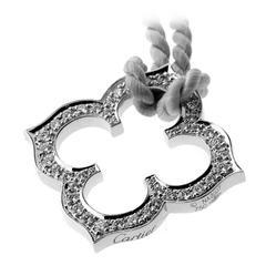 Cartier Diamond Gold Cs Necklace