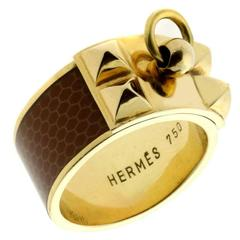 Hermes Collier de Chien Gold Ring