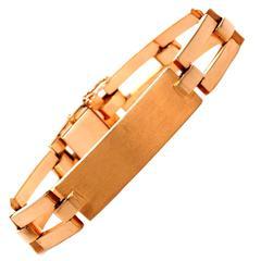 French Gold men's Bracelet