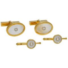 Tiffany & Co. Diamond Gold Dress Set