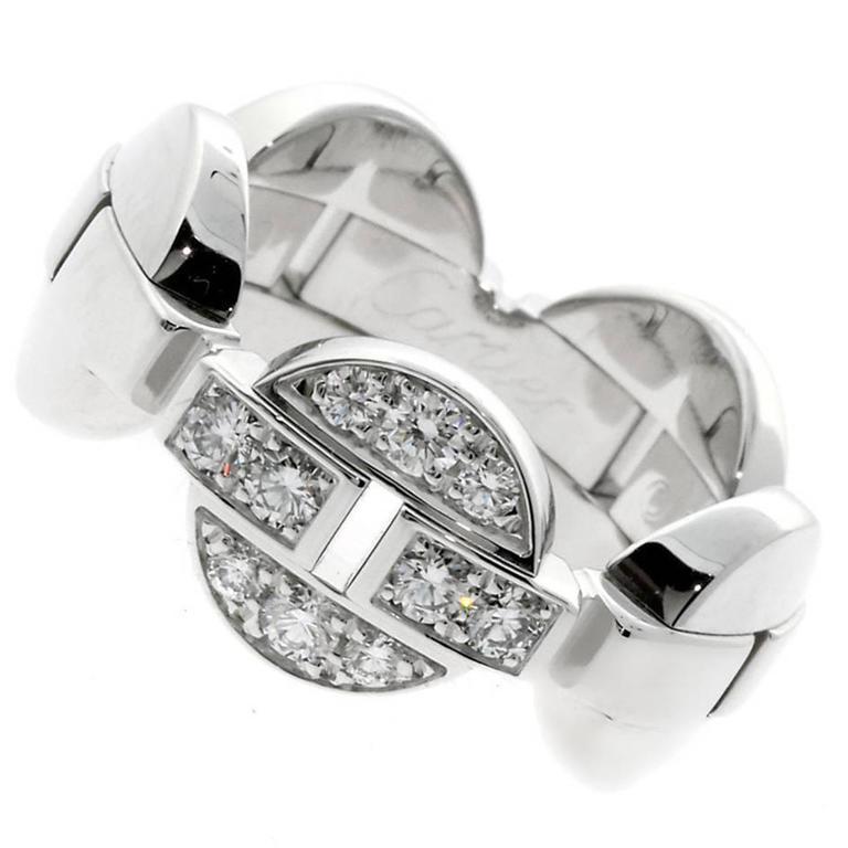 Cartier Himalia Diamond Gold Ring