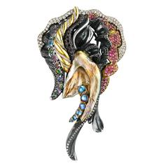Naomi Sarna Queen of the Sea Brooch