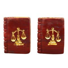 Michael Kanners Legal Book Cufflinks